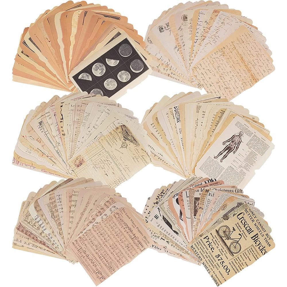 Винтажные журналы Journamm, 25 листов, фоторамки для альбомов, художественные бумажные журналы, планировщики, эстетические коллажи