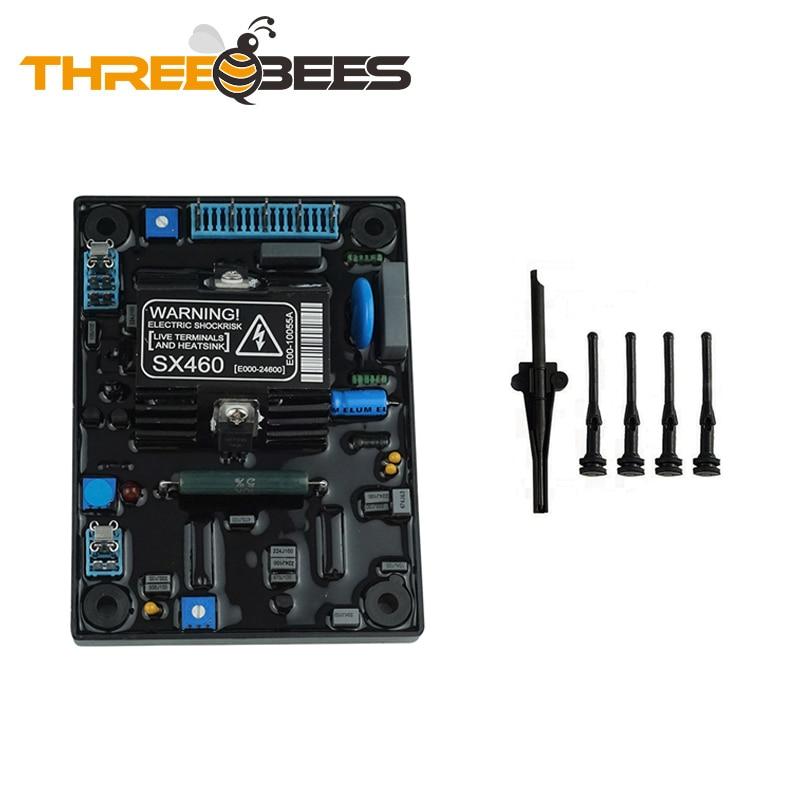 Новые запчасти для дизельного генератора SX460 AVR, автоматический регулятор напряжения
