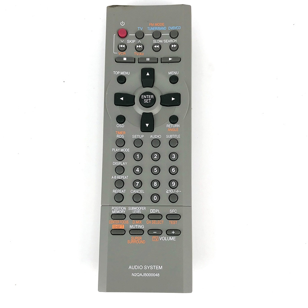 NEW Original Remote Control For Panasonic N2QAJB000048 SA-DP1 SC-DP1 Micro system with DVD AUDLO SYSTEM Remote Control