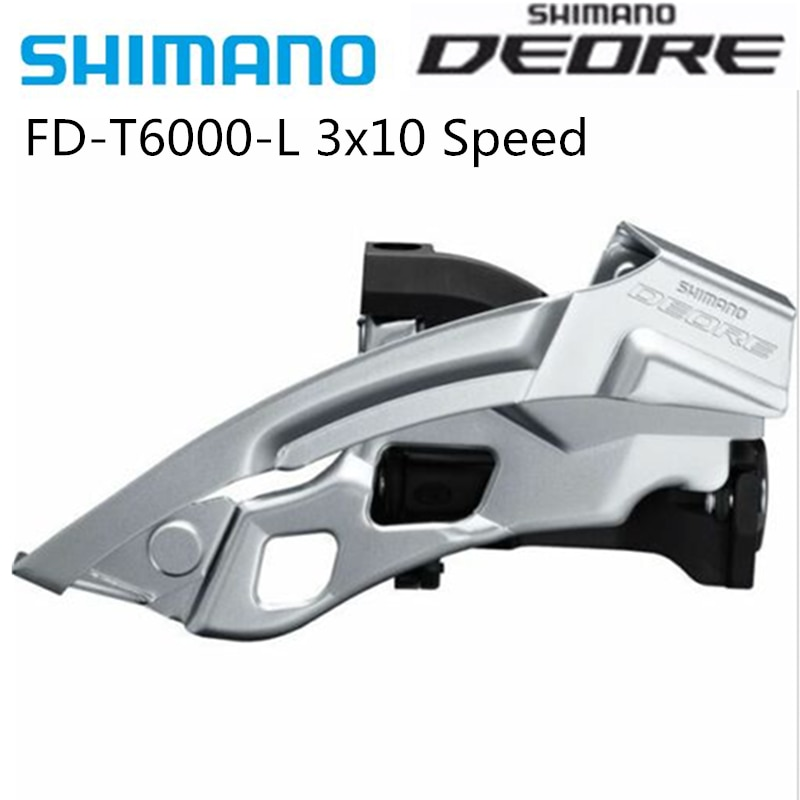 Shimano Deore FD-T6000 34,9mm T780 31,8mm Clamp Auf Umwerfer Top Swing Dual Pull MTB Berg bike 3x10 Radfahren Teile