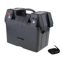 multifunctional battery box voltmeter lightweight durable boat camper rv