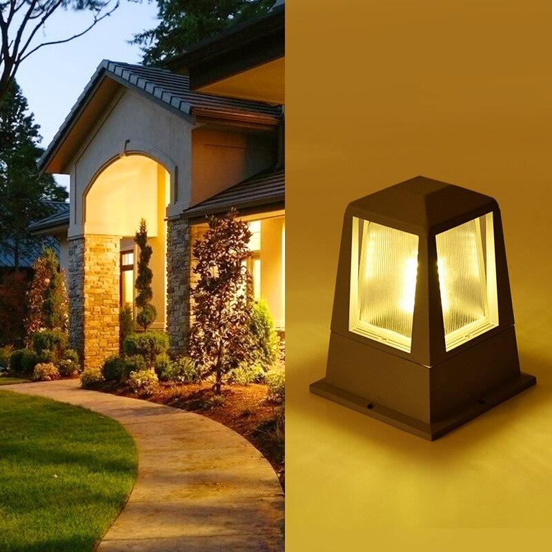 Garden Lights Outdoor Street Lamp Led Garden Lamps AC110V AC220V Waterproof Aluminum Garden Lighting Christmas Lights for Park enlarge