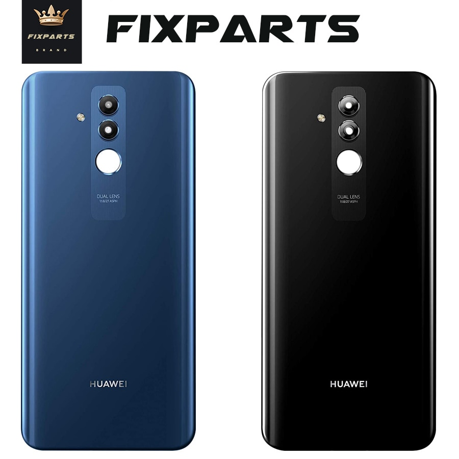 Original Huawei Mate 20 Lite Back Battery Cover Glass Housing Door Case With Camera Lens Huawei Mate