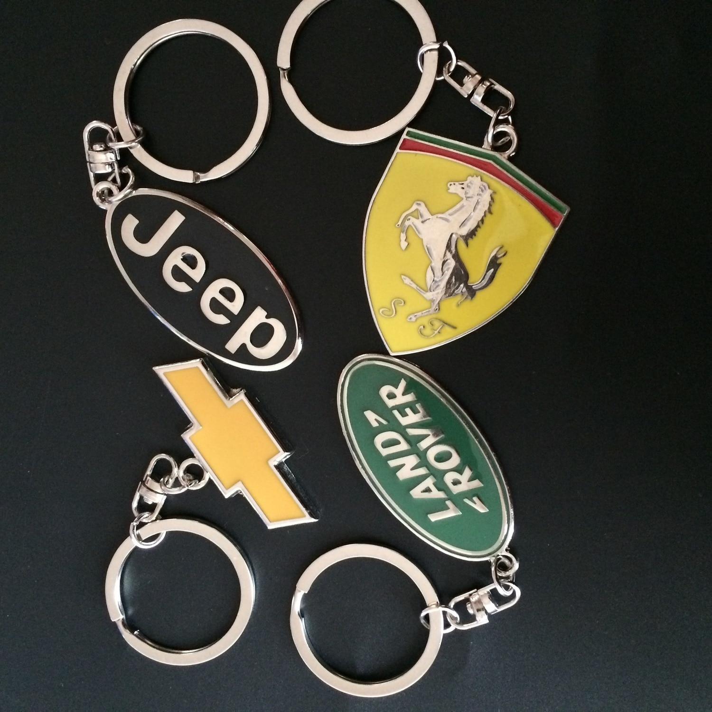 Chaveiro de logotipo ferrari, presentes para chevrolet jee-p range, fivela de automóvel, 4S chaveiro de carro