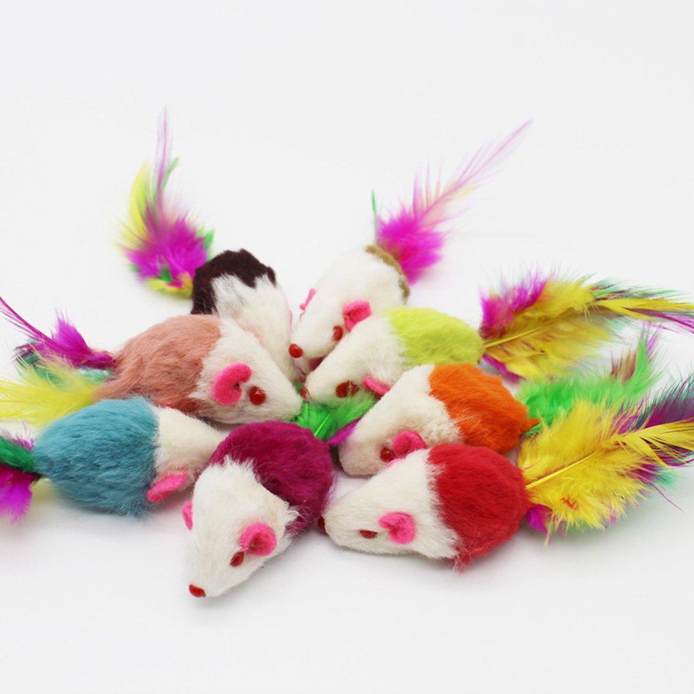 Кошачья Дразнилка с заводной мышкой и маленькой мышкой, плюшевая игрушка, товары для кошек