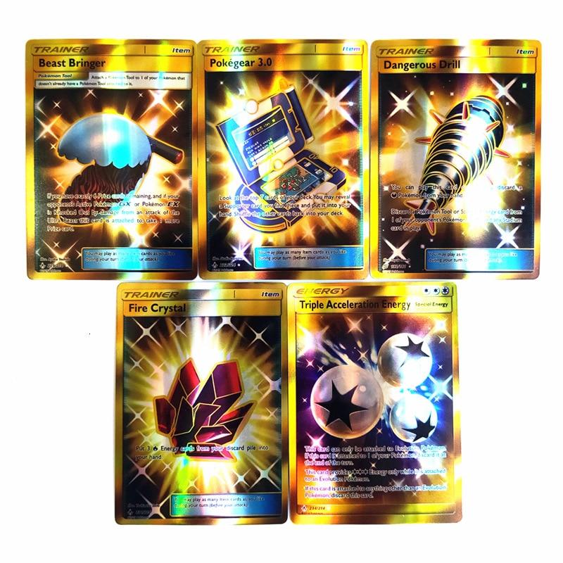200 Uds. Gx Mega cartas brillantes juego Battle Carte cartas de intercambio juego niños regalo juguete
