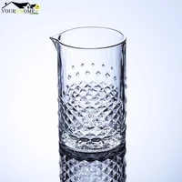 760ml cocktail mixing glass bartender crystal glass whiskey cup drinkware glass bottle martini barware beer drinking