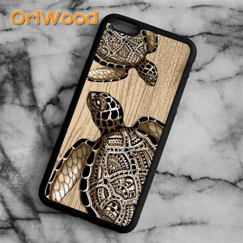 Оригинальный морской Черепаха Животное чехол для iPhone 6s 7 8 plus X XR XS 11 pro max Samsung Galaxy S6 S7 S8 S9 S10 plus