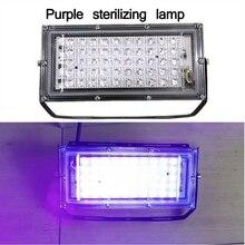 Светодиодный светильник для наводнения бактерицидный домашний УФ-светильник для стерилизации озона дезинфекция ультрафиолетовая пыль бактериальный Mite Killer 50W
