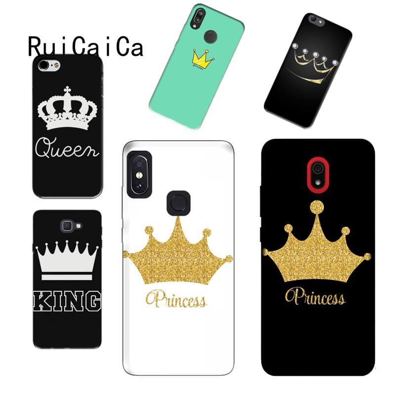 RuiCaiCa Boss Mädchen Dame Königin König Telefon Fall für Huawei p10 p30 lite p40 lite p30 pro p smart2019 Honor8X 8A 10 Lite 20 8lite