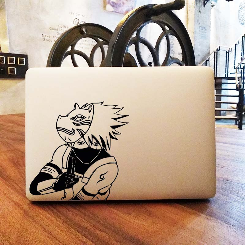 Kakashi Hatake Anime etiqueta engomada del ordenador portátil para cubierta de Bohemia Macbook Pro etiqueta Macbook Pro piel Macbook Pro Retina, 11 12 13 14 15 pulgadas Naruto Dell Mac libro Mi piel