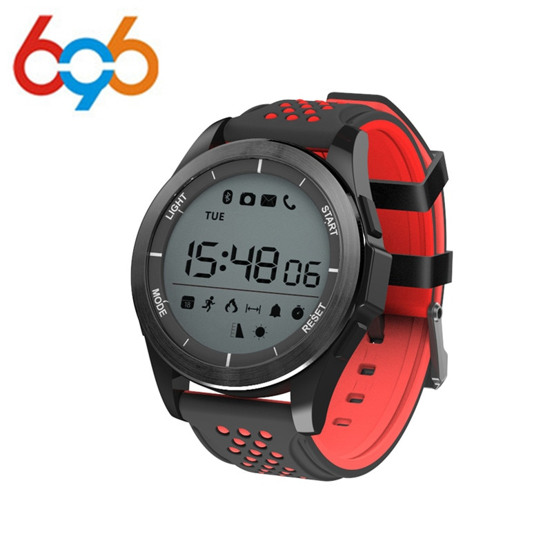 F3 Smart Watch Bracelet IP68 Waterproof Hiking Sports Smartwatch Fitness Tracker Wearable Devices For Android iOS