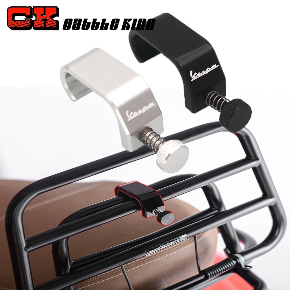 For Vespa gts 300 sprint px lx primavera Adjustment Bag Frame Hook Crotchet Grips Accessories