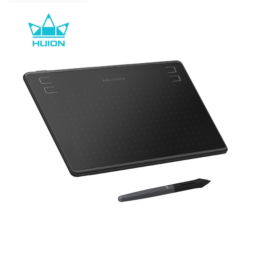 Huion HS64 8192 Graphic Tablet Digital Drawing Tablets with Battery-Free Stylus Press Keys Android Windows MacOS