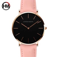 hannah martin top luxury brand quartz ladies watches fashion business clock life waterproof women watch female watch reloj mujer