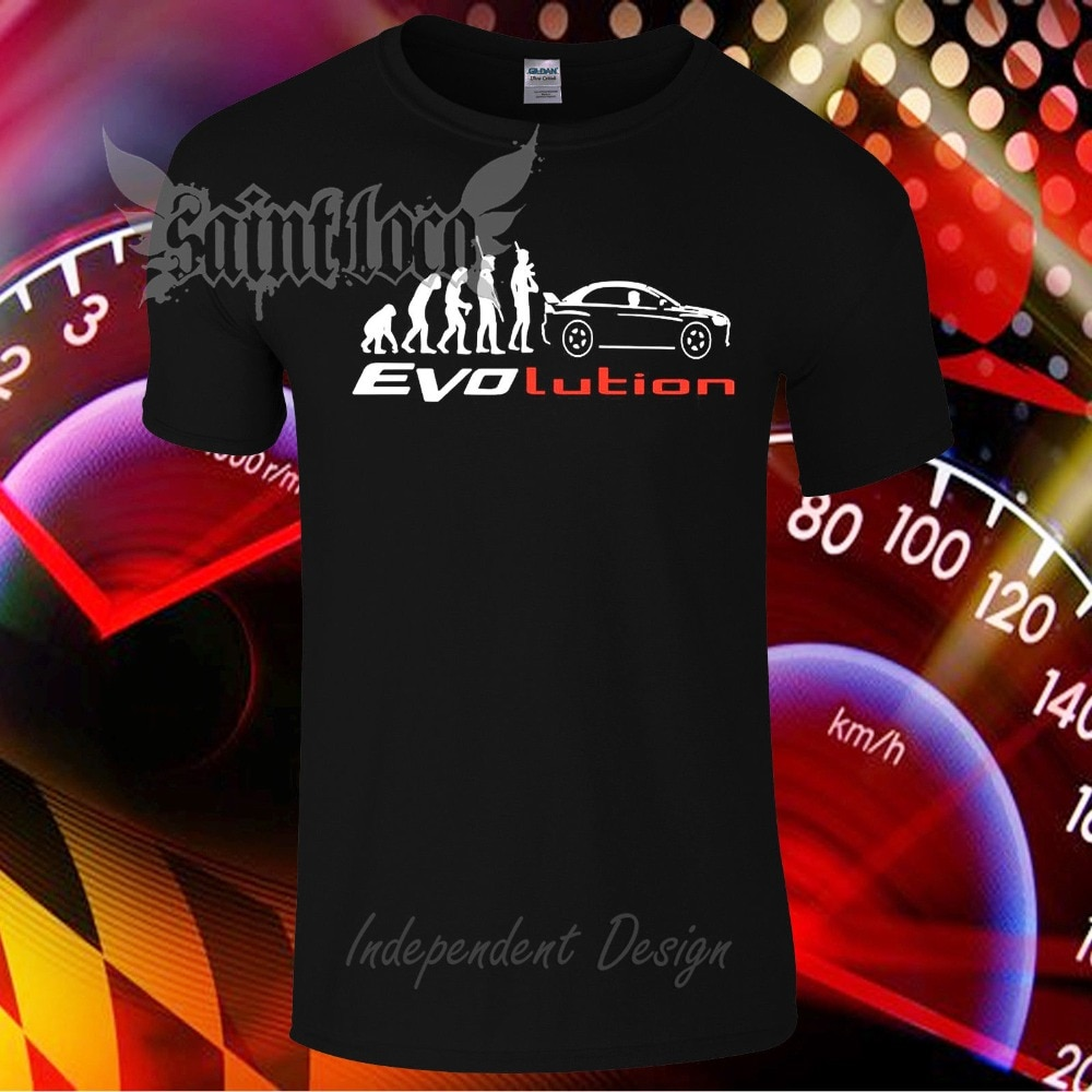 2020 Fashion Summer T Shirt Lancer Evo Evolution car fans T-Shirt Size : S to XXXL Tee Shirt