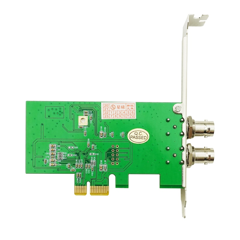 1080P AHD PCI-E Capture Card Support Directshow, 1-CH/2-CH Version enlarge