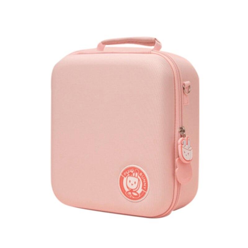 مناسبة ل نينتندو سويتش حقيبة التخزين ، الوردي الأرنب حقيبة حمل ، سعة كبيرة