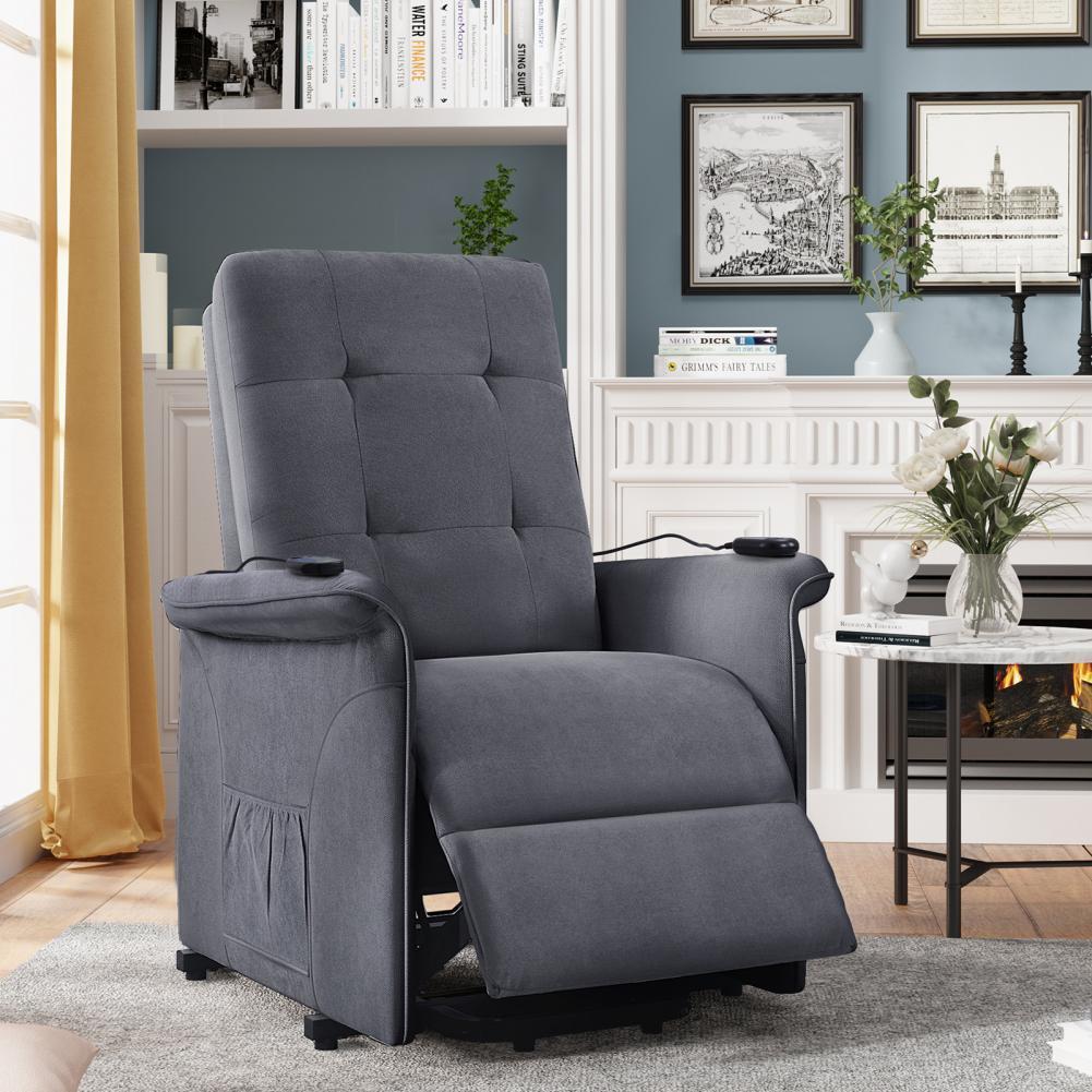 مقاومة للاهتراء مستقرة تمديد مسند للقدمين إمالة تدليك كرسي كرسي أريكة للحياة اليومية