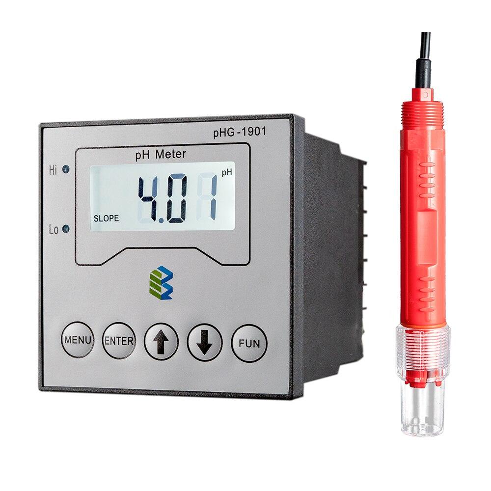PHG-1901 Industrial en línea RO planta 4-20mA salida pH Sensor Metro