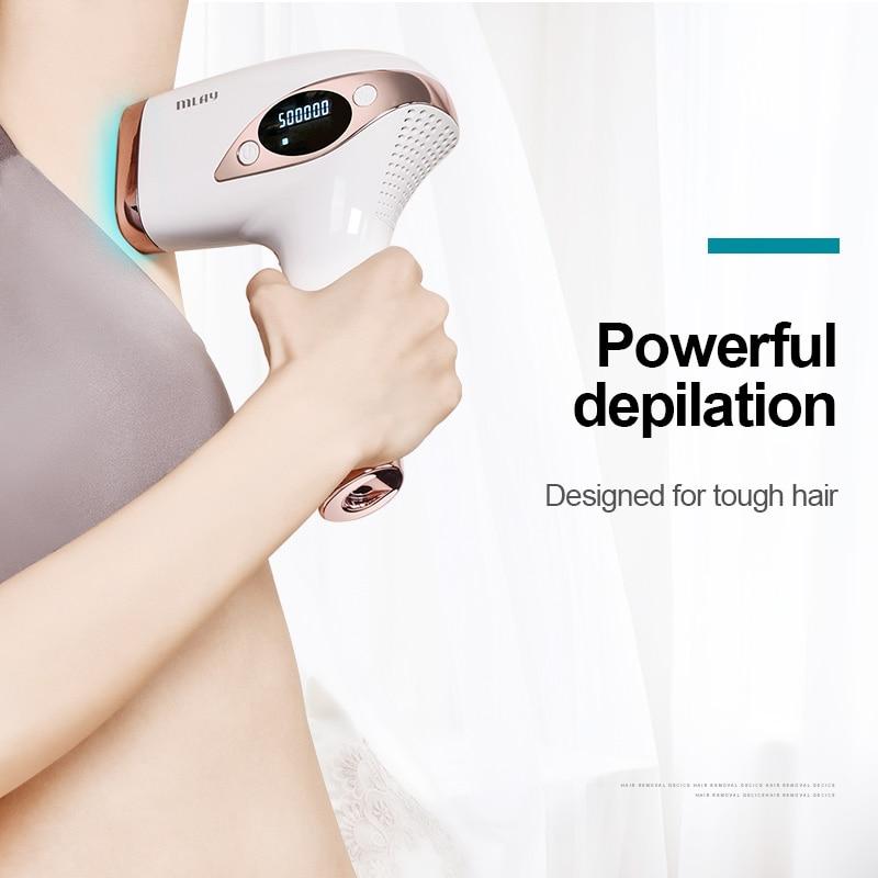 Mlay T4ليزر ماكينة إزالة شعر العانة عدسات ليزر ازالة الشعر جهاز ملاي ليزر للجسم ليزر منزلي اجهزة شعر Melsya IPL Depileitor enlarge