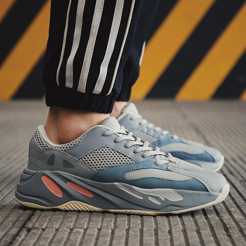 Novo de alta qualidade respirável homem tênis sapatos masculinos adultos sapatos casuais sapatos masculinos rendas tenis feminino zapatos
