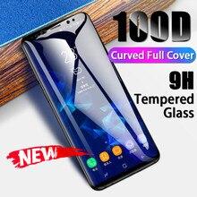 Gebogen Volledige Cover Gehard Glas Voor Samsung Galaxy Note 10 9 8 s7 s6 Rand Screen Protector Film Voor S10 s9 Plus Beschermende Glas