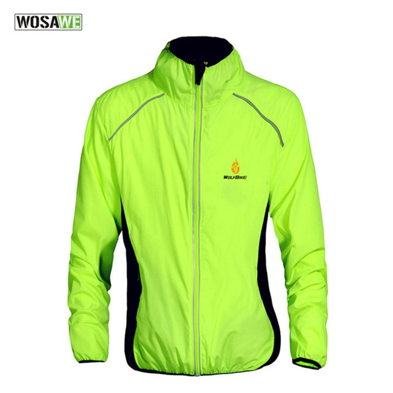 2020 WOSAWE Windproof Cycling Motorcycle Jackets Men Women Riding Water Repellent Breathable Jersey Ultra-Light Bicycle Clothing enlarge