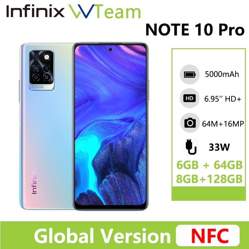 Infinix Nota 10 Pro versión Global NFC 6,95