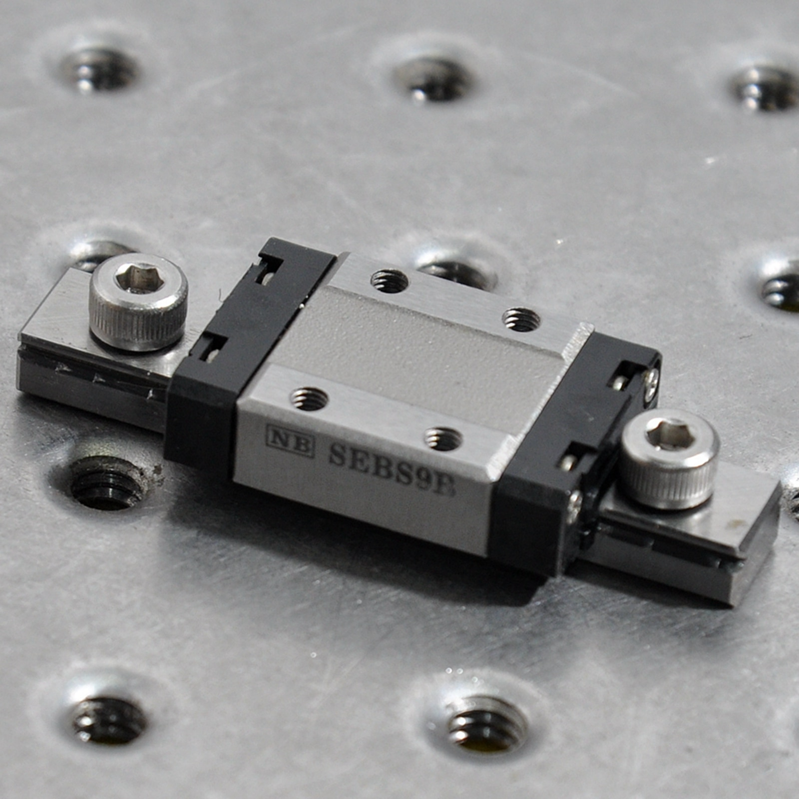 NB Japan SEBS9B small precision slider sliding table miniature pneumatic rail slider 20*30mm enlarge