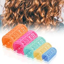 8Pcs Hair Curler Easy to Use DIY Plastic DIY Hair Curling Roller for Female