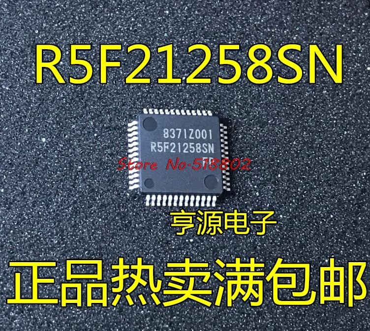 5 pçs/lote R5F21258SNFP R5F21258SN TQFP-52