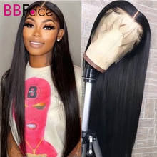 Straight Human Hair Wigs 13x4 Lace Frontal Wig Human Hair Wig Brazilian 4x4 Closure Wig Pre Plucked
