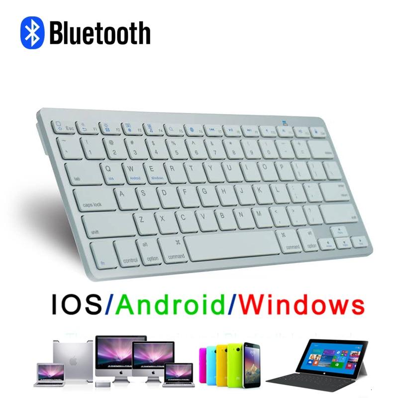 CHYI ультра тонкий беспроводной Мультимедиа Bluetooth мини Kayboard 78 клавиш портативный тонкий Kaypad для IOS Android Windows планшет ноутбук