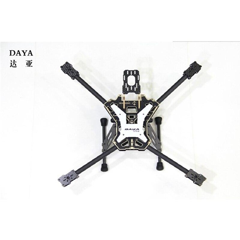 DIY Mini DAYA-550 DAYA 550 Alien Folding FPV Quadcopter Rahmen Kit 550mm DAYA550 Carbon Faser für FPV für DIY racing
