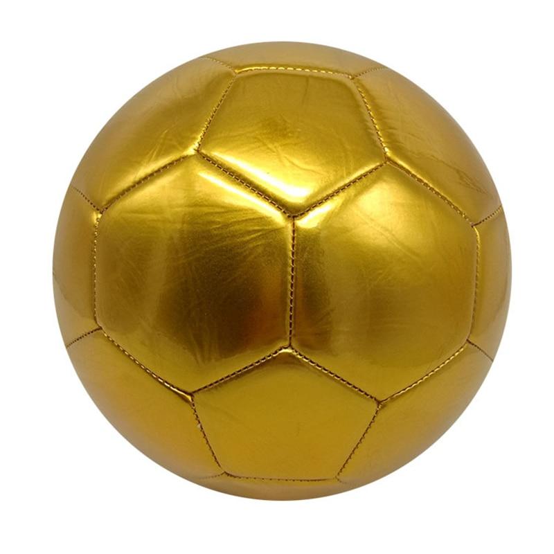 Тренировочные Золотые футбольные мячи для тренировок на газоне, футбольные мячи, Размер 5