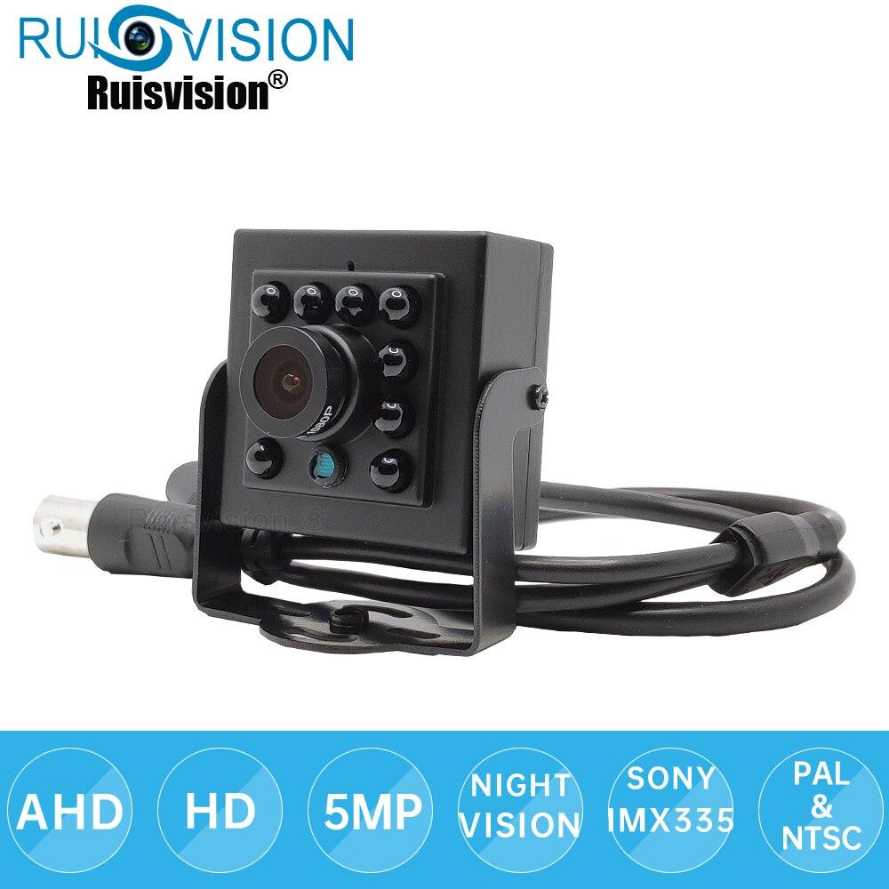 AHD 5MP Camera SONY IMXX335 Sensor 940NM LED Night Vision AHD CCTV Camera 4 in 1 Indoor Security Video MINI AHD Camera