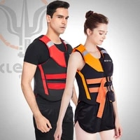 new mens and womens life vests surfing adult life jackets rafting motorboat buoyancy life jackets swimming neoprene 2021