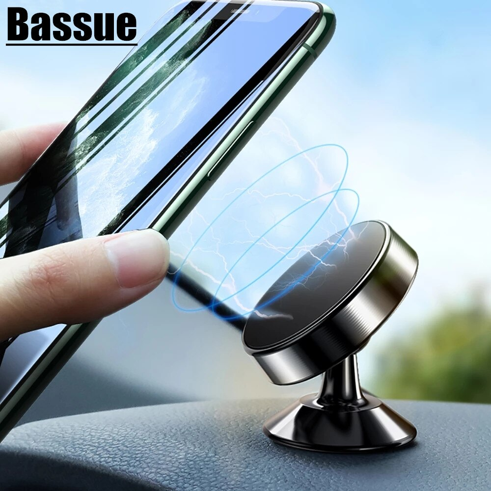 Magnetic Car Phone Holder Stand in Car Cellphone Stand Mount for iPhone Xs Max Xr X Dashboard Phone