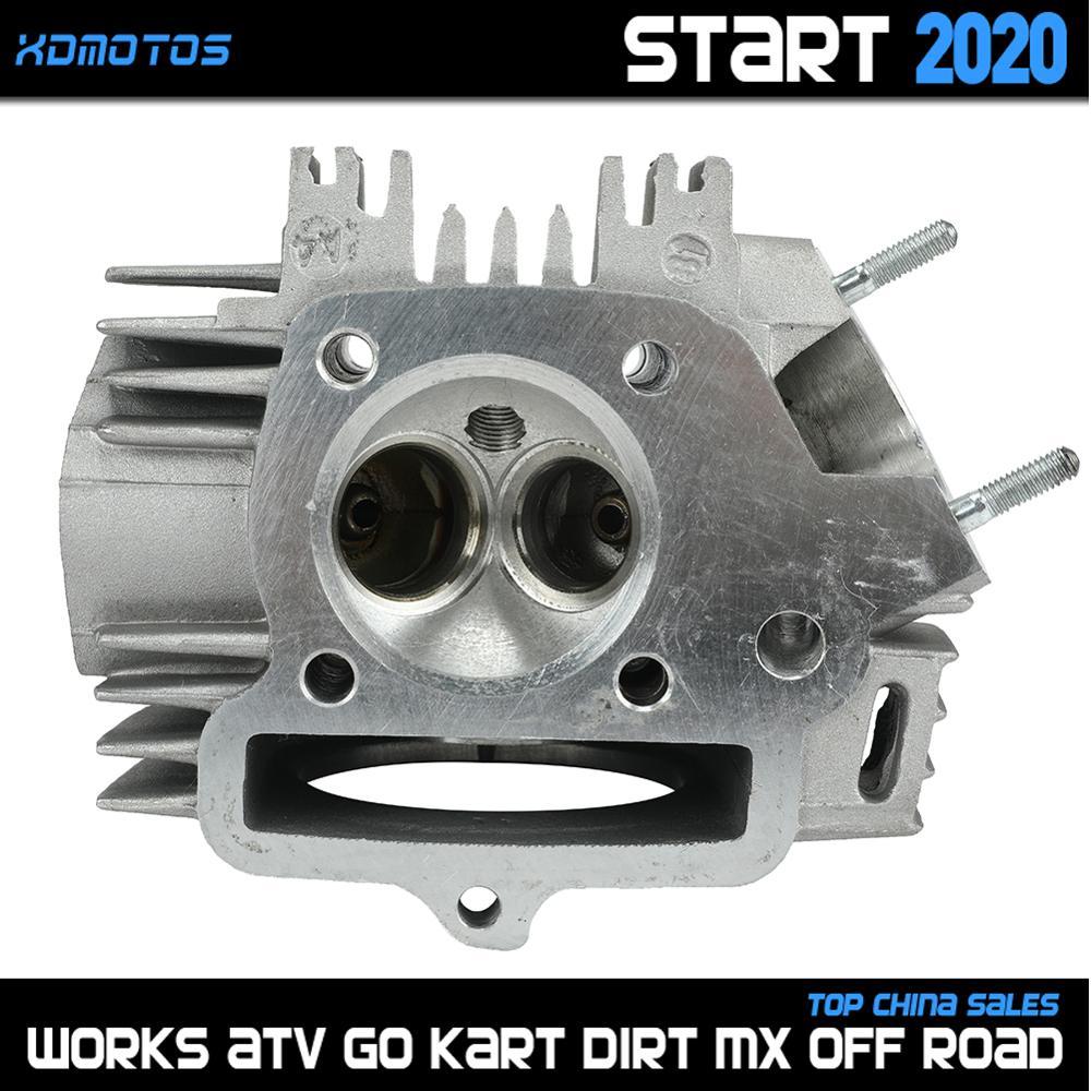 Motorrad Zylinder Kopf Für 56,5mm Bohrung lifan LF 150 150cc Horizontale Kick Starter Motoren 1P56FMJ Teile