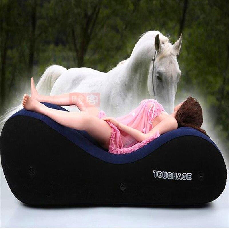 أريكة سرير قابلة للنفخ ، ألعاب مثيرة للأزواج البالغين ، أثاث الحب ، المثيرة ، كرسي BDSM ، أريكة أرضية مع أصفاد هدايا