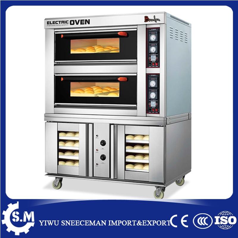 Универсальная духовка, электрическая печь, устройство для брожения и выпечки, многофункциональная печь для выпечки печенья, пиццы, хлеба