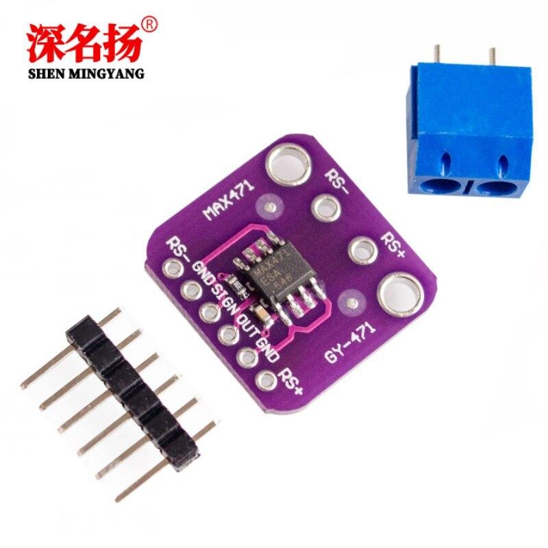 GY-471 actual 3A de MAX471 actual Módulo de sensor de detección de medición de corriente