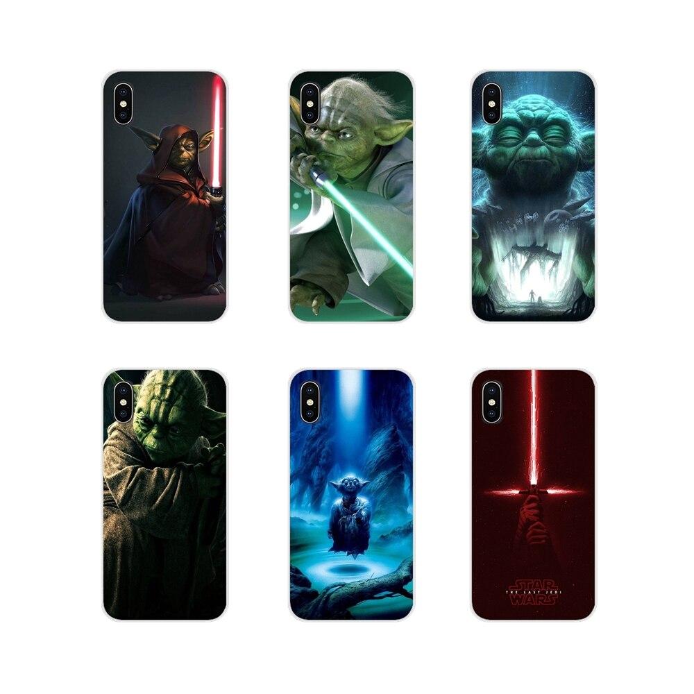 Para BQ Aquaris 5059 S 5035 6040L C V Plus X X2 Pro U U2 Lite M 2017 E 4,5 E5 X5 accesorios cubiertas de los casos del teléfono YODA star wars