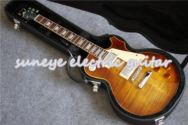 Guitarra eléctrica estándar Suneye China OEM, cromo, Hardware, Guitarra eléctrica, mano izquierda,...