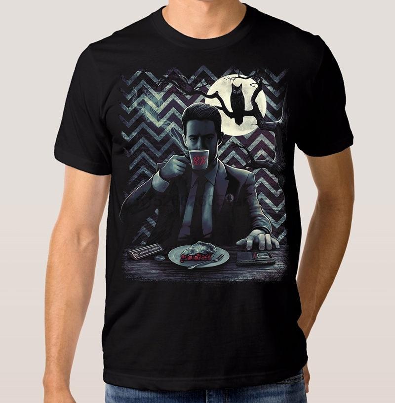 Twin Peaks agente Cooper camiseta de David Lynch 100% algodón Dale camiseta Cooper