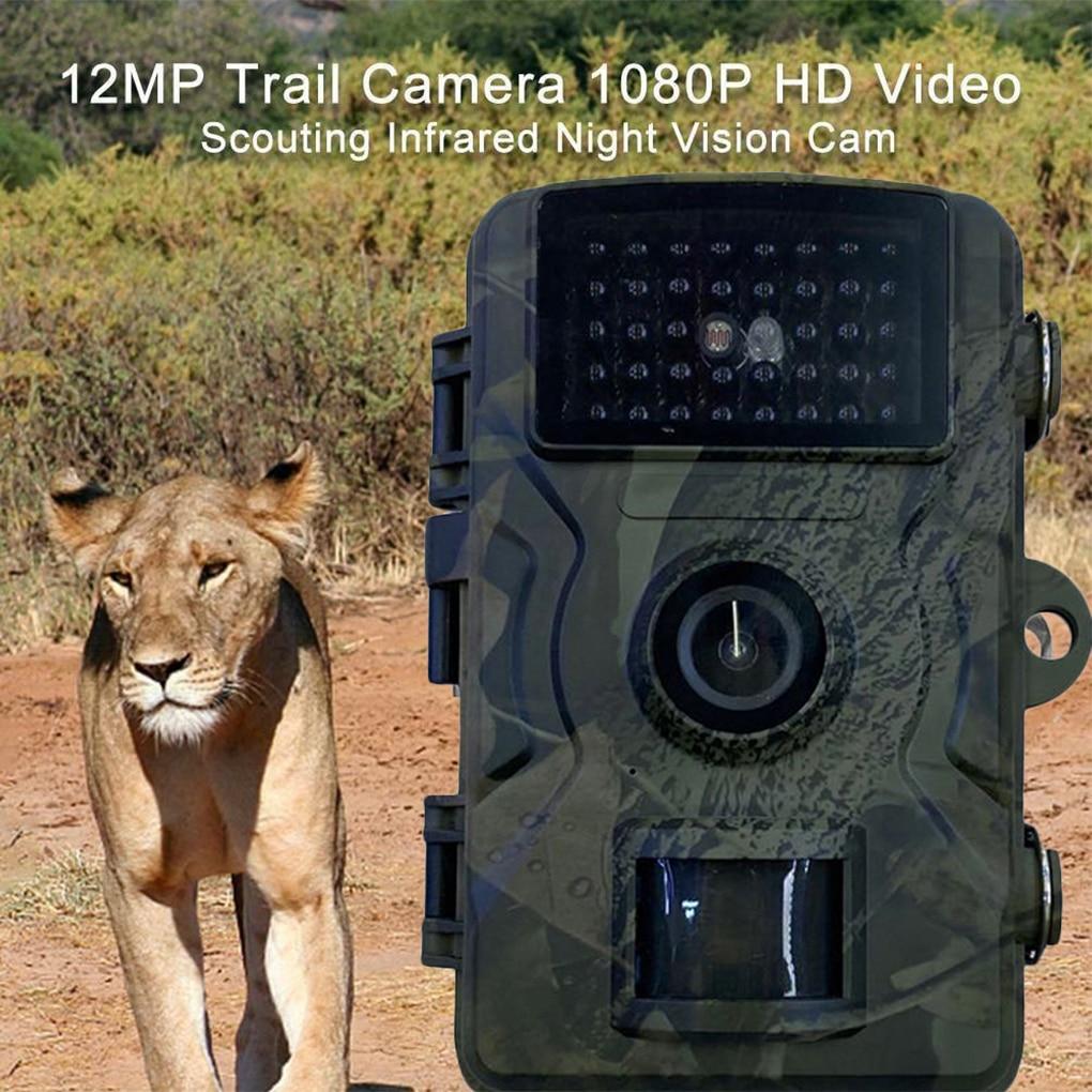 Охота Камера 1080P IP66 Водонепроницаемый Trail Камера PIR инфракрасный видеорегистратор на открытом воздухе видео Регистраторы