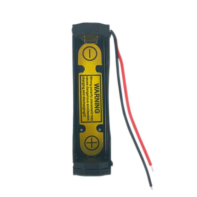 1S1P bricolage alimenté boîte charge décharge contrôle support de batterie étui pour Li-ion 3.6V 3.7V 18650 17670 fente de charge de batterie