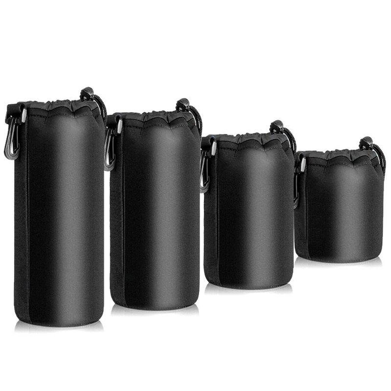 Waterproof Shockproof Neoprene Camera Case Lens Pouch Lens Case Camera Lens Bag Full Size FOR Nikon For Sony QX2B