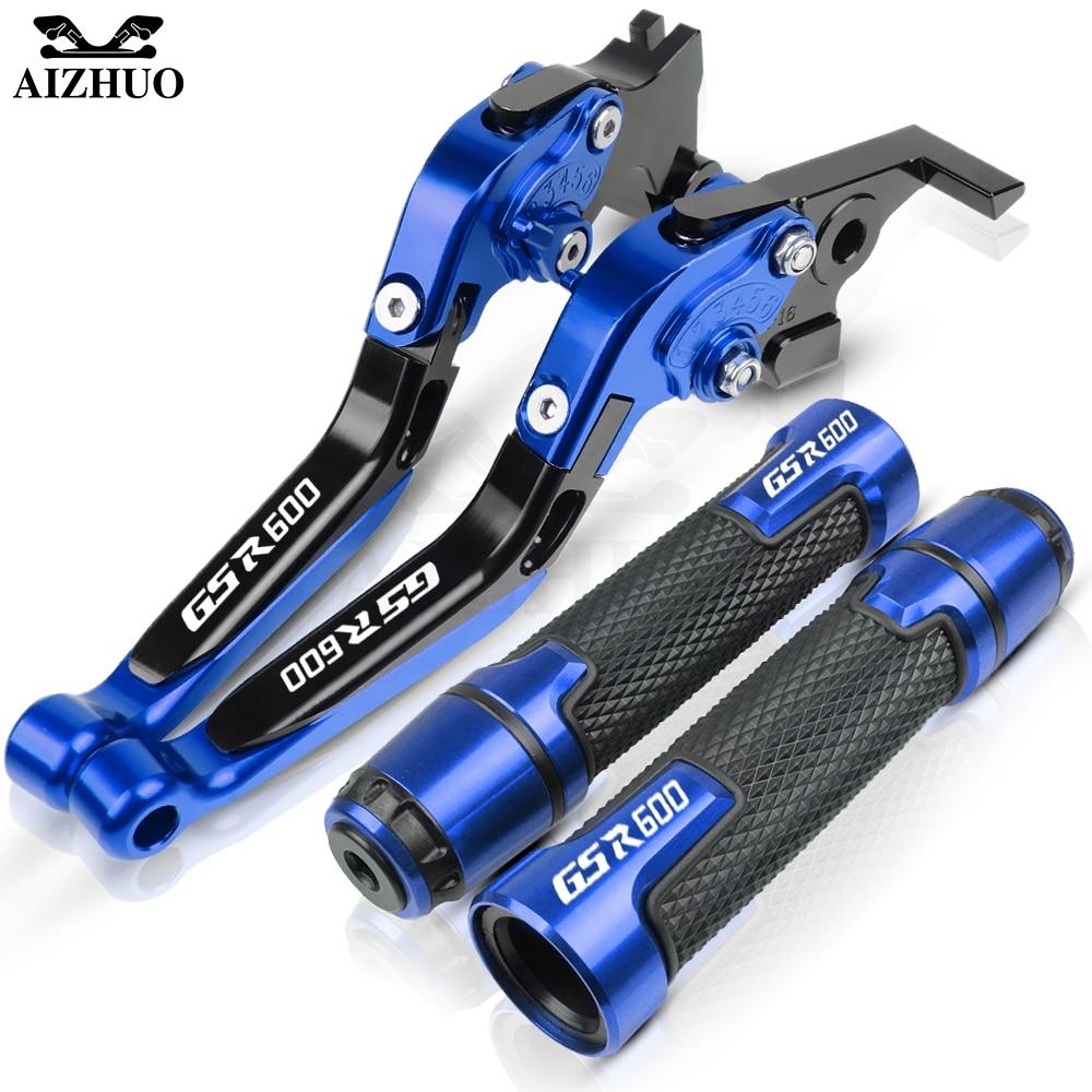 Moto accessoires frein embrayage leviers poignée poignées pour Suzuki GSR600 GSR 600 2006-2011 2007 2008 2009 2010